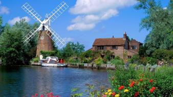 Hunsett Mill wallpaper