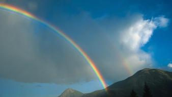 Kootenay Rainbow wallpaper