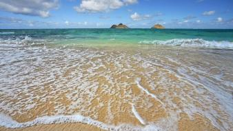 Lanikai Shoreline wallpaper