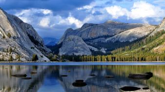 Mountains landscapes lakes Wallpaper