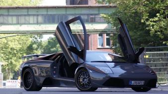 Murcielago Doors Open wallpaper