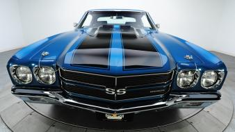 Muscle cars chevrolet chevelle ss Wallpaper