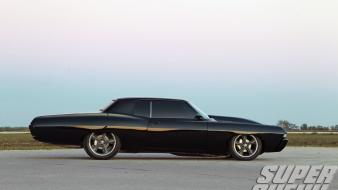 Muscle chevrolet vehicles black super chevy magazine wallpaper