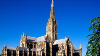 Salisbury cathedral wallpaper