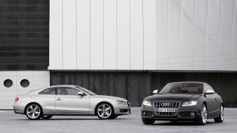 Two Audi A5 wallpaper