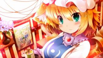 Video games touhou yakumo ran anime girls Wallpaper
