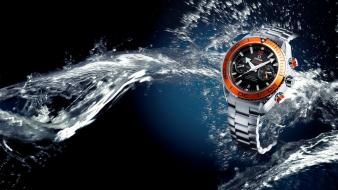 Water orange watches omega wallpaper