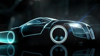 Audi tron 3d fan art wallpaper