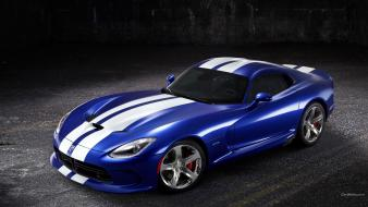 Cars dodge viper gts blue srt10 srt wallpaper