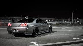 Cars nissan skyline r34 gt-r jdm wallpaper