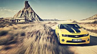 Cars vehicles chevrolet camaro ss Wallpaper