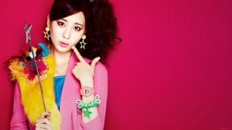 Celebrity black asians seohyun korean k-pop faces wallpaper