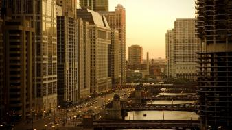 Cityscapes chicago architecture cities Wallpaper
