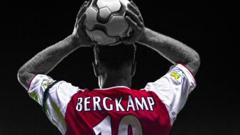 Coloring premier league cutout dennis bergkamp football wallpaper