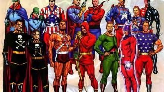 Comics alex ross Wallpaper