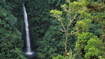 Costa rica waterfalls congo angel falls wallpaper