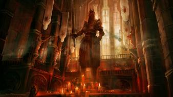 Dragon age 2 temple altar wallpaper