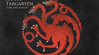 Dragons game of thrones house targaryen wallpaper
