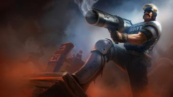 Fantasy art artwork graves champions moba game wallpaper