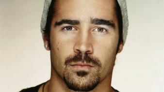 Men actors colin farrell faces wallpaper