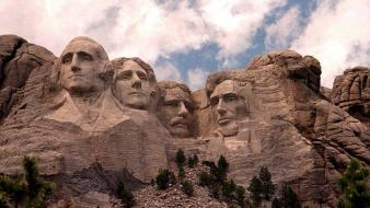 Mountains presidents of the united states skyscapes washington wallpaper