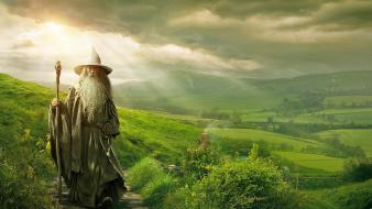 Movies gandalf the hobbit ian mckellen wallpaper