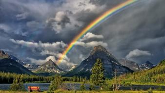 Rainbows hdr photography wallpaper