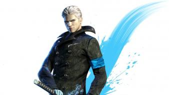 Realistic vergil devil may cry 5 dmc wallpaper