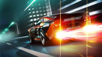 Ridge racer 3d nintendo 3ds game Wallpaper