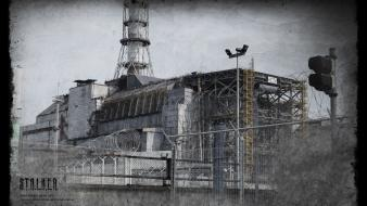 S.t.a.l.k.e.r. chernobyl nuclear power plants game wallpaper