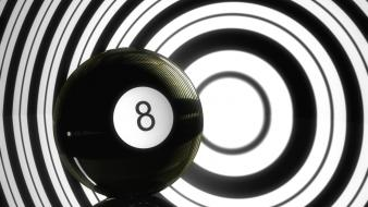 Shiny eightball Wallpaper