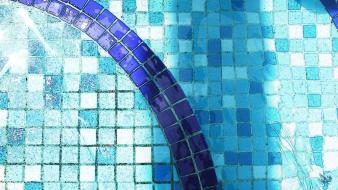 Swimming pools tile wallpaper