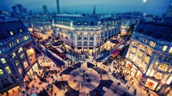 Tilt-shift courtyard evening westminster abbey ed mcgowan Wallpaper