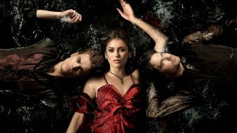 Vampire diaries posters ian somerhalder paul wesley wallpaper