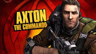 Video games borderlands 2 gearbox software axton wallpaper