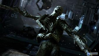Video games dead space watermark Wallpaper