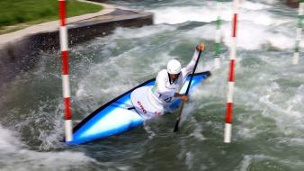 Water sports kayak canoe olympics 2012 wallpaper