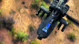 Aircraft military helicopters ah-64 apache wallpaper