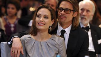 Angelina jolie brad pitt celebrity wallpaper