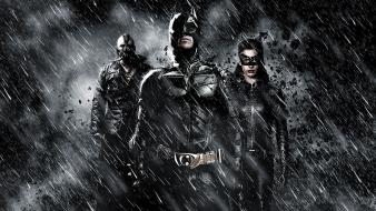 Batman catwoman bane the dark knight rises wallpaper