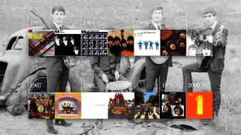 Beatles bands album covers albums discography 60s Wallpaper