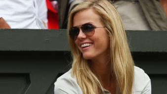 Blondes sunglasses brooklyn decker wallpaper