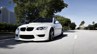 Bmw m3 white cars Wallpaper
