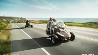 Can-am spyder races motorsports speed car brp Wallpaper