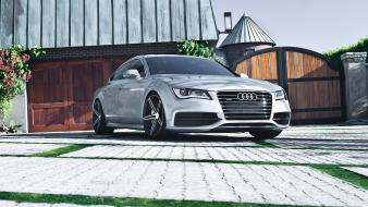 Cars audi vehicles german a7 quattro wallpaper