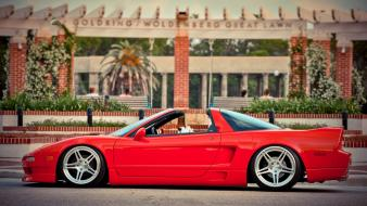 Cars red acura nsx wallpaper