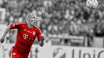 Champions league arjen robben cutout bayern munich wallpaper