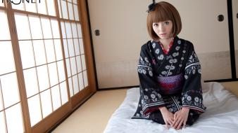 Clothes aino kishi tatami bangs juicy honey wallpaper