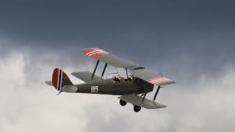 De havilland tiger moth wallpaper