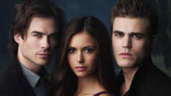 Diaries tv series ian somerhalder paul wesley wallpaper